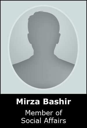 Member of Social Affairs for BHESA
