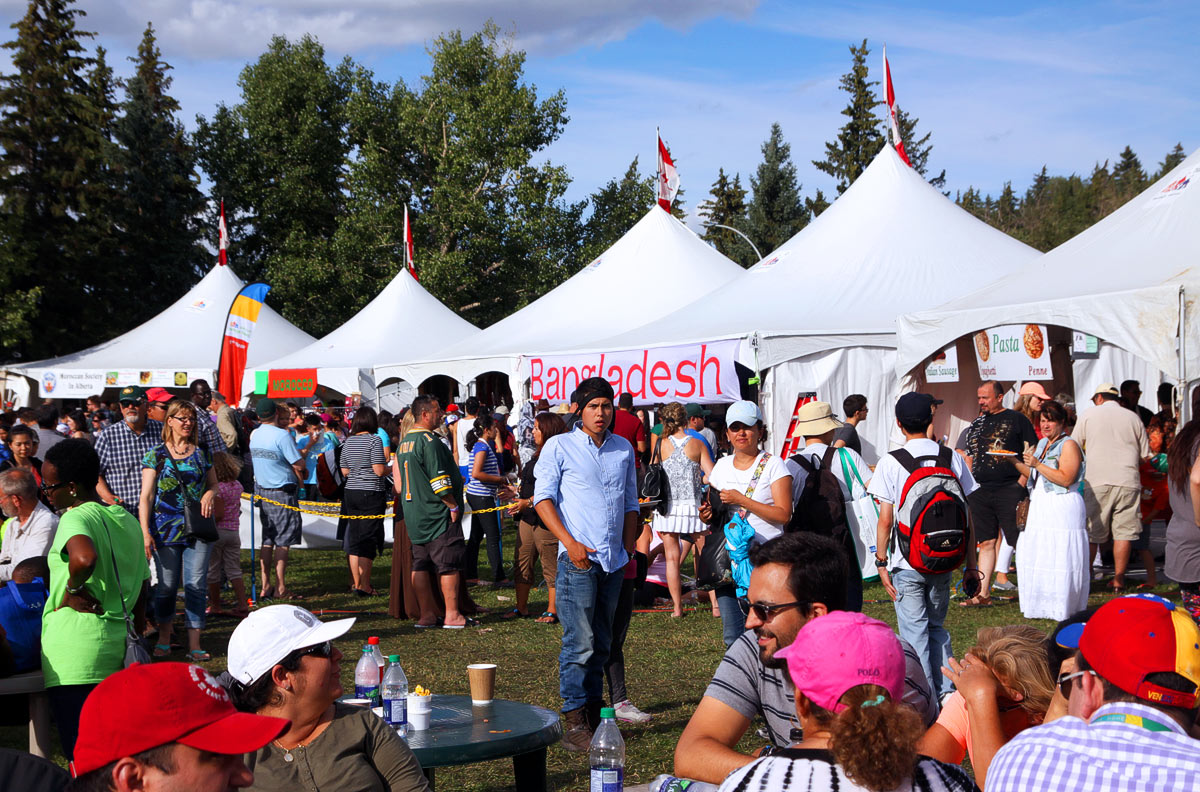 The Bangladesh Pavilion at the Heritage Festival in Edmonton